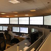 The new-look Metro control room