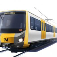 Artists impression of a new Metro train