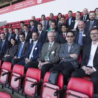 group of people at Stadium of Light in Sunderland