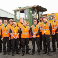 group of apprentices