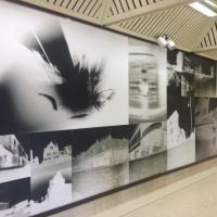 artwork at Byker Metro