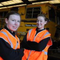 Nexus female engineers Morgan Saville and Sam Davenport