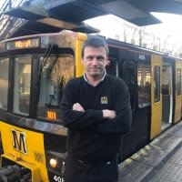 Metro driver Sean Docherty