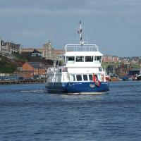 The Shields Ferry mid Tyne