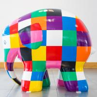 Elmer the Elephant Sculpture