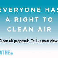 Clean air campaign logo